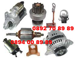 резервни части за стартери и алтернатори